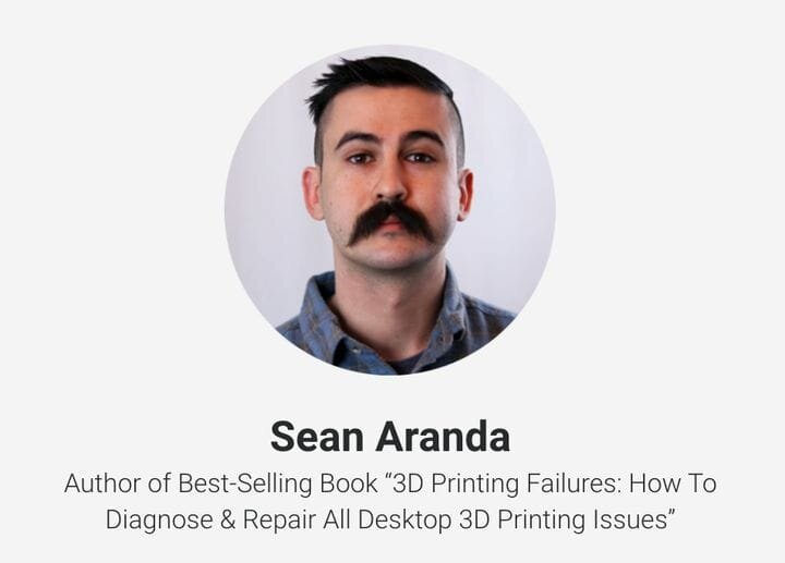 Sean Aranda, one of the presenters at IO3DP's upcoming virtual conference on 3D printing [Source: IO3DP]