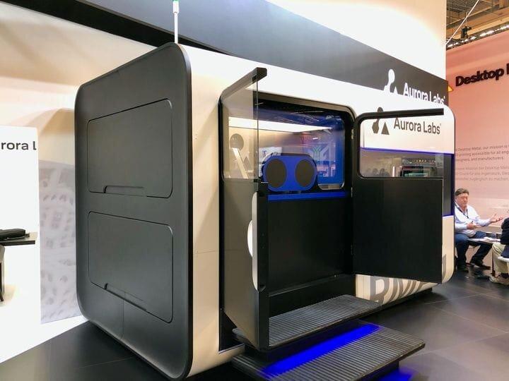Recent prototype of Aurora Labs' RMB metal 3D printer [Source: Fabbaloo]