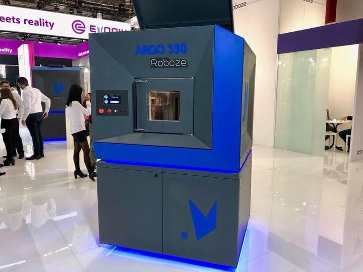 ROBOZE Introduces The ARGO 350 Industrial 3D Printer