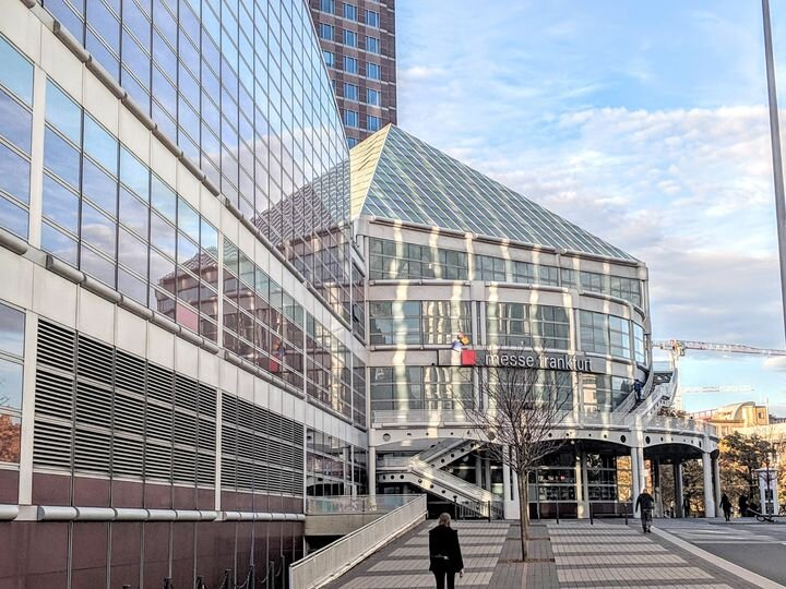 The Messe Frankfurt, where Formnext 2019 will be held [Source: Fabbaloo]