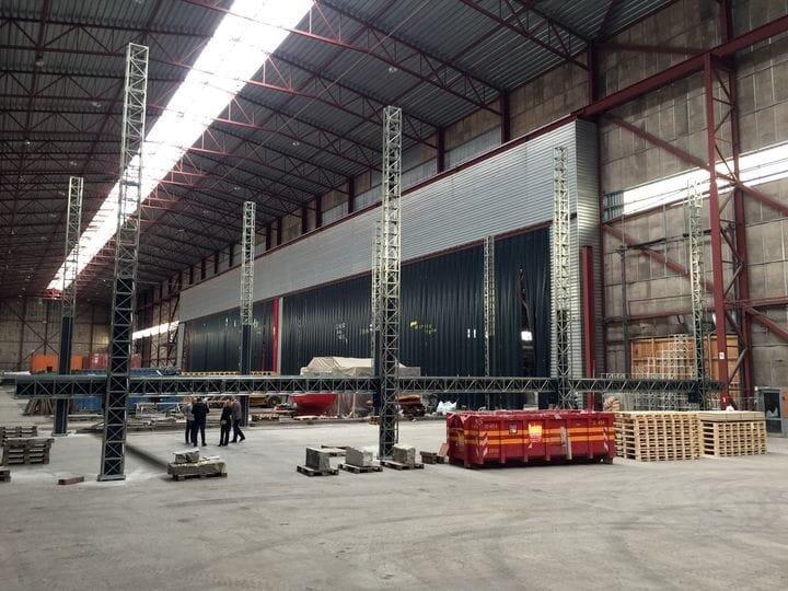 The enormous COBOD BOD2 construction 3D printer [Source:COBOD]