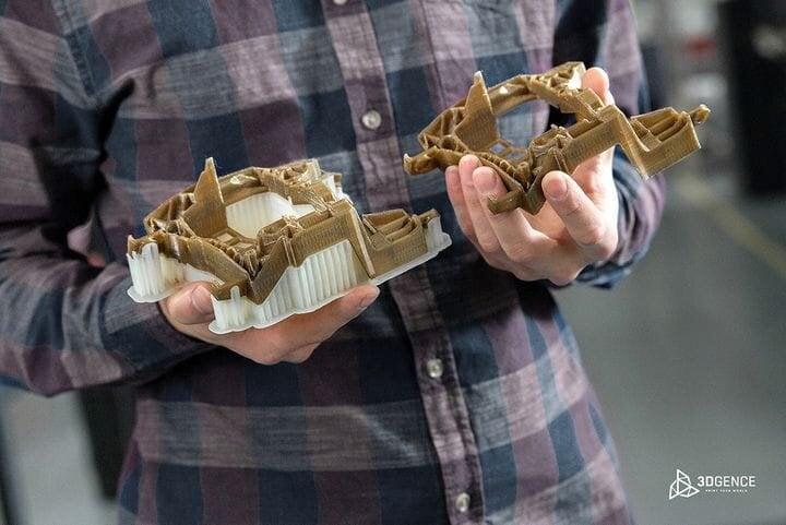 , The Speedy 3DGence INDUSTRY F420 Industrial 3D Printer