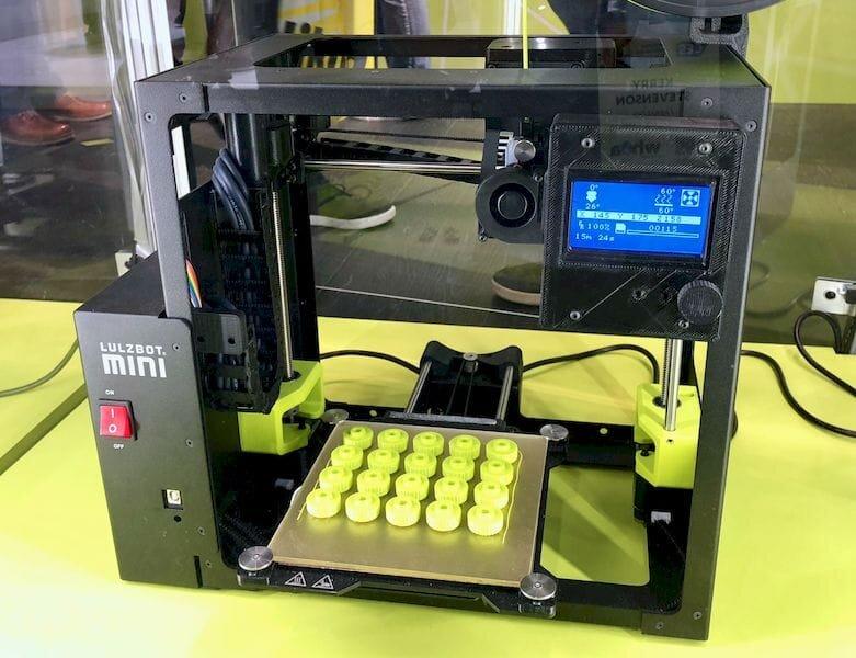 The LulzBot Mini desktop 3D printer [Source: Fabbaloo]