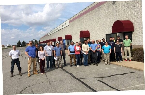 Formlabs' new Spectra Polymers team in Ohio [Source: Formlabs]
