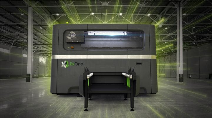 The ExOne X1 160PRO metal 3D printer [Source: ExOne]