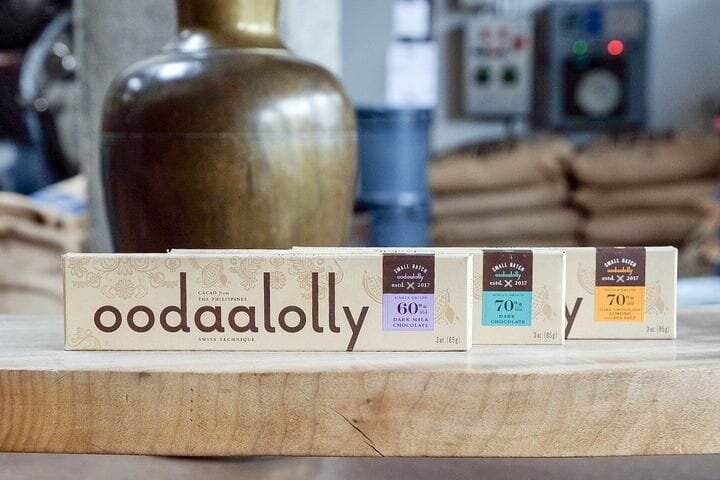 A collection of oodaalolly chocolate products [Source: oodaalolly]