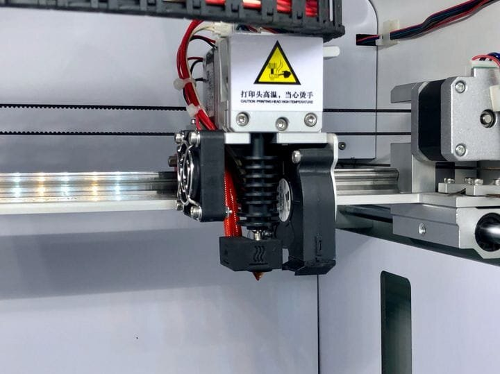 Goofoo 3D printer hot end [Source: Fabbaloo]