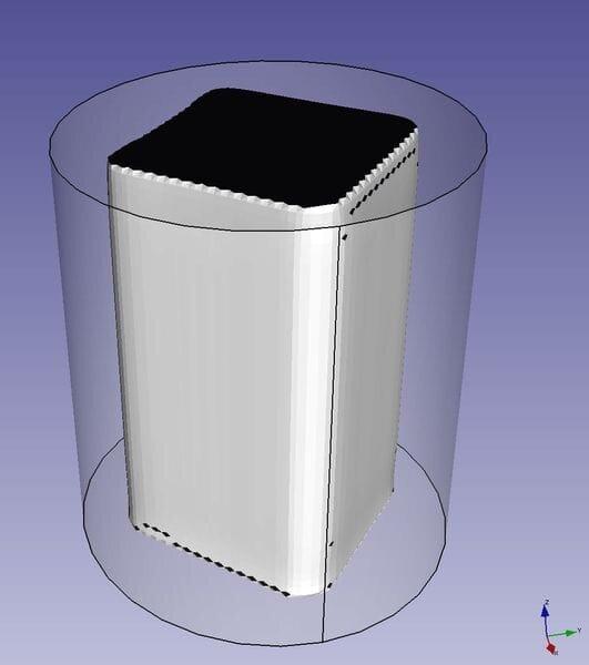 The first (simulated) Electric 3D Print [Source: RepRap Ltd]