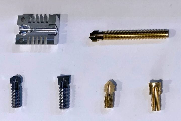 3D printer components by Runice [Soruce: Fabbaloo]