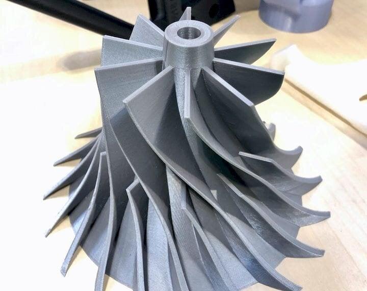 The TRILAB DeltiQ 2 3D Printer