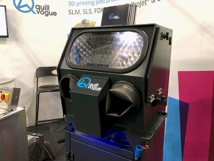 Quill Vogue's 3D print wash system [Source: Fabbaloo]