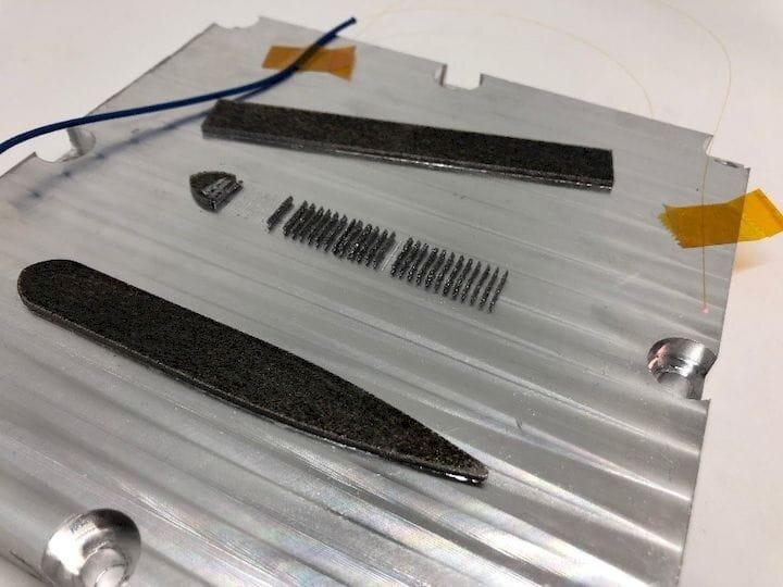 Fabrisonic's Smart Metal 3D Print Build Plate