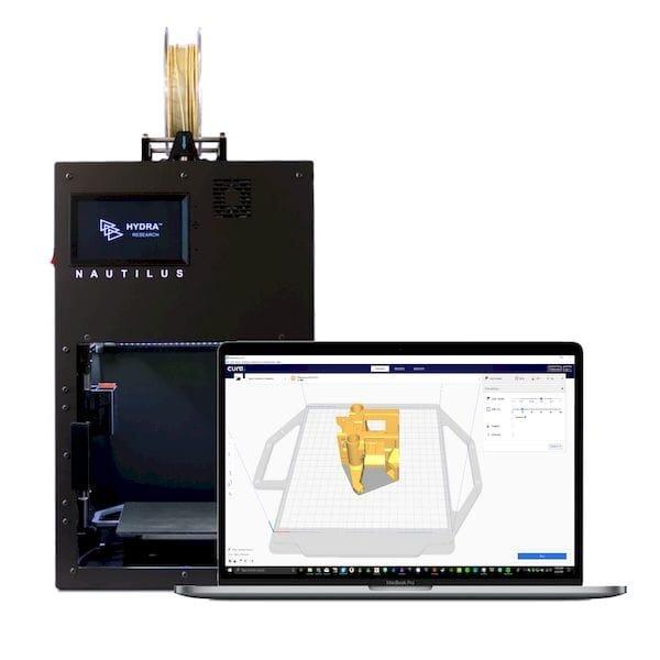 The Open Source Nautilus 3D Printer's Numerous Features