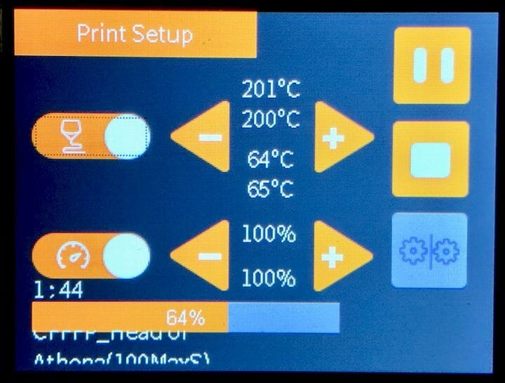 ANET ET4 print settings adjustments [Source: Fabbaloo]
