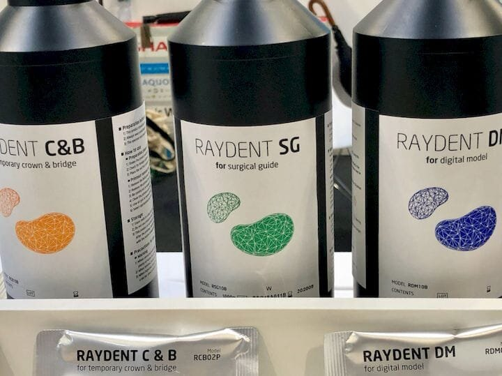 Biocompatible resins for the RayDent Studio dental 3D printing system [Source:: Fabbaloo]