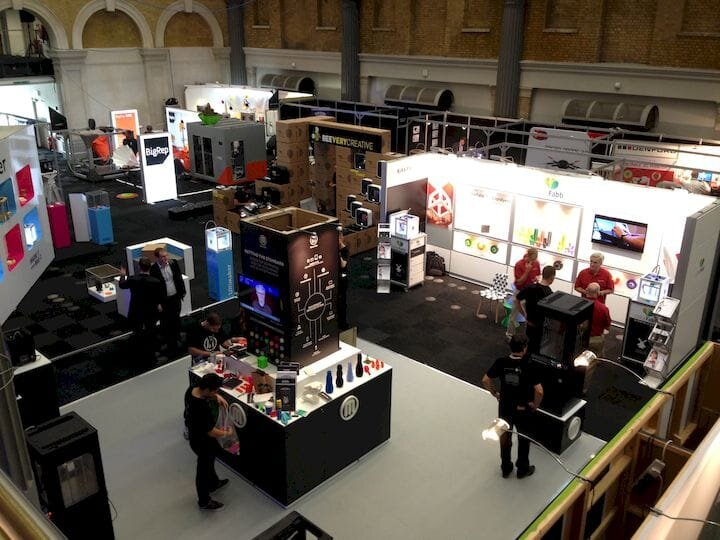 It's always amazing at 3D print trade shows [Source: Fabbaloo]