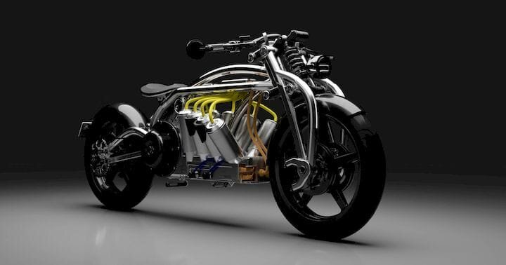 Design of the Week: Zeus V8 Electric Motorcycle