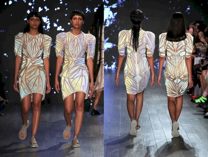 Stratasys Shows Fashion Fabric 3D Printing System