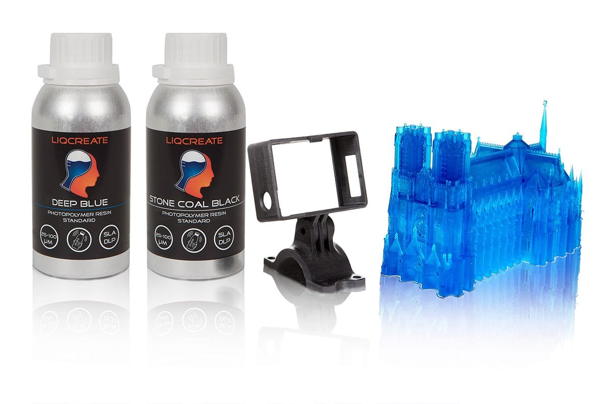 Another Source For Quality 3D Printer Resins: Liqcreate
