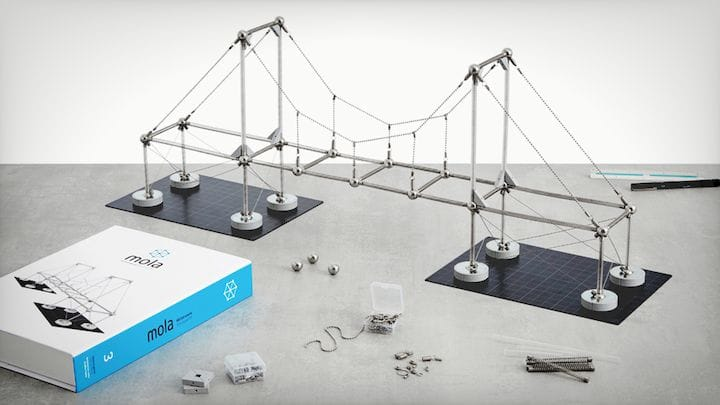 The Mola Structural kit built [Source: SolidSmack]