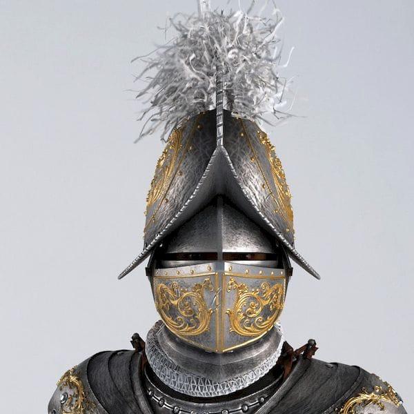Swiss Guard 3D model [Source: TurboSquid]