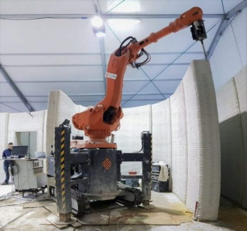 CyBe's Construction 3D Printers Are Mobile