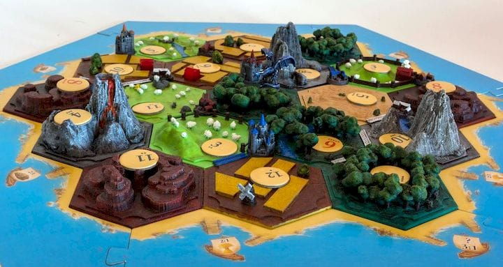 , Design of the Week: Settlers of Catan