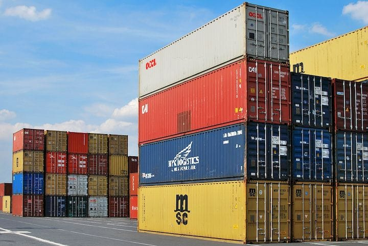 Tariffs imposed on incoming shipments of parts [Source: Pixabay']
