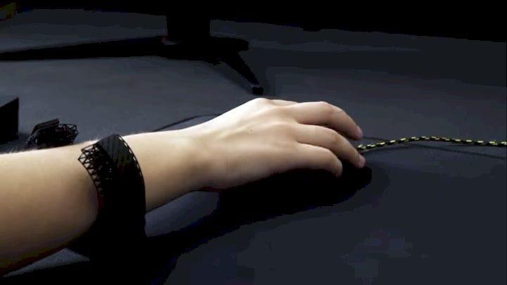 Uppkoppla 3D printed wrist rest [Source: SolidSmack]