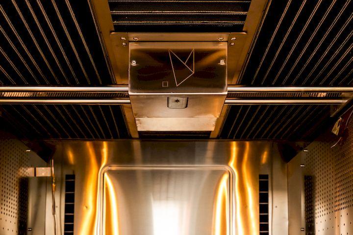 The enormous high temperature build chamber on the Roboze Argo 500 industrial 3D printer [Source: Roboze]