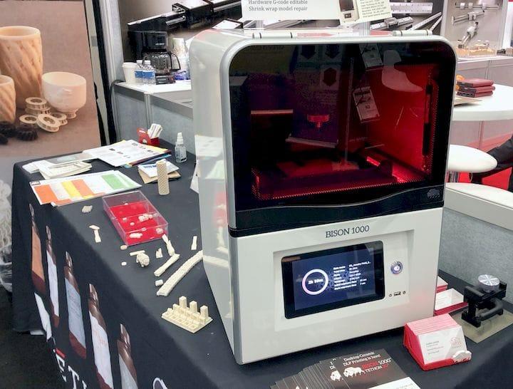 The Bison 1000 3D Printer [Source: Fabbaloo]