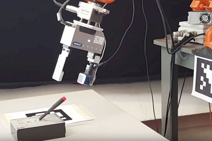 , MIT Robot 3D Scans By Gel-Based Touch Sensors