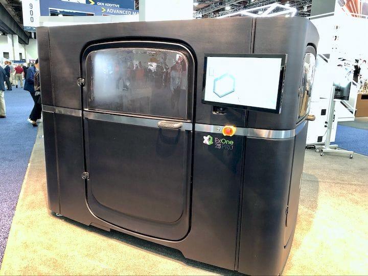 The ExOne X1 25 PRO metal 3D printer [Source: Fabbaloo]