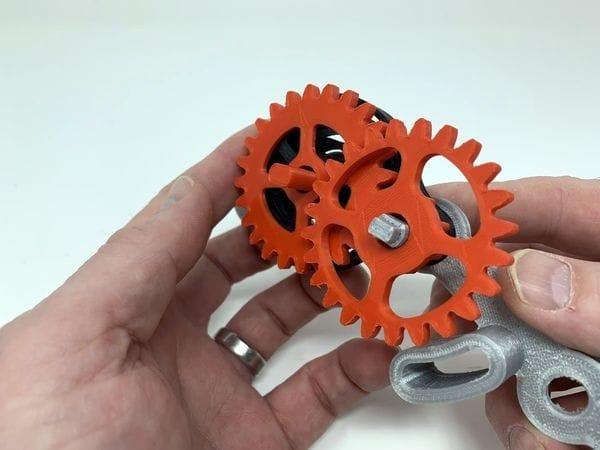 , Design of the Week: 3D Printed Windup Car