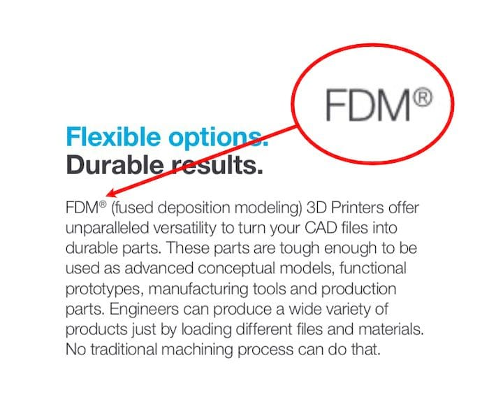 , Is it FDM or FFF?