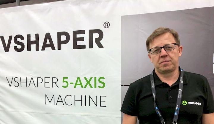 VSHAPER CEO Tomasz Szymański [Source: Fabbaloo]