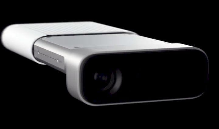 Microsoft's upcoming Azure Kinect device [Source: Microsoft]