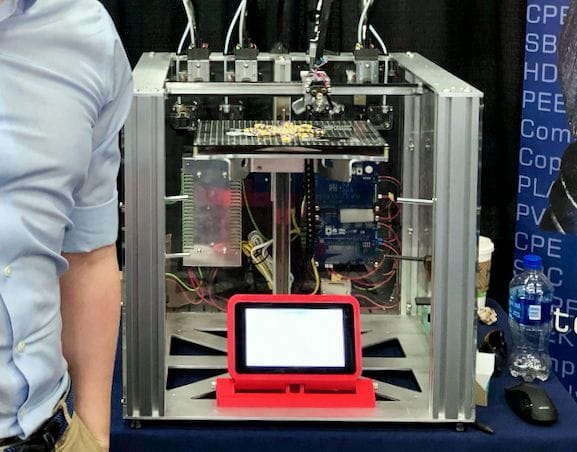 E3D Online's Tool Changing 3D Printer Near Completion