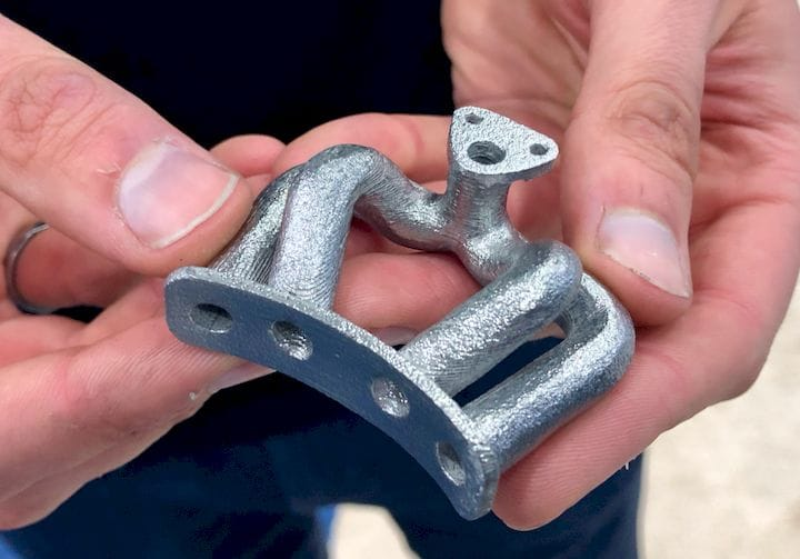 A very nice metal 3D print made by Rapidia [Source: Fabbaloo]