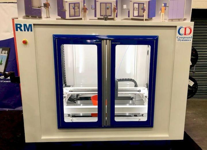 Compound Dynamics: A Machine Tool-Style 3D Printer