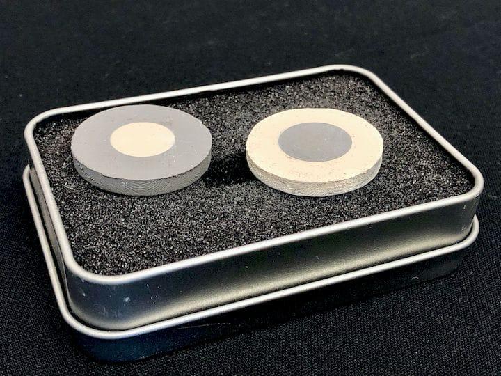 XJet's Dual Material Ceramic and Metal 3D Prints