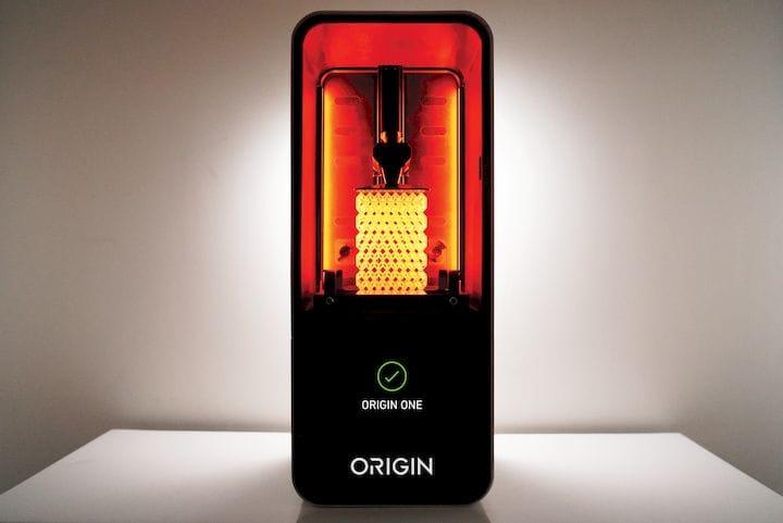 The Origin One manufacturing 3D printer [Source: Origin]