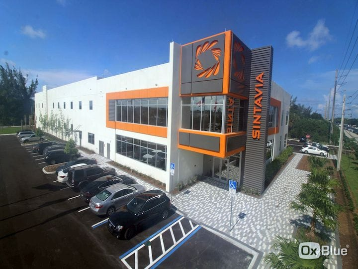 Sintavia's new manufacturing facility in Florida [Source: Sintavia]