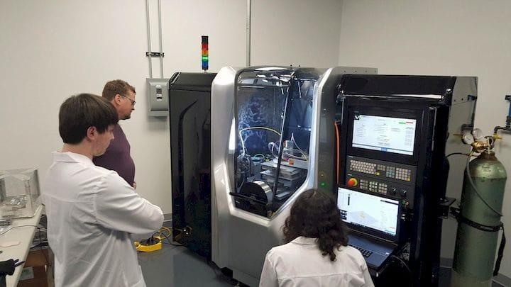 Liquid metal 3D printing at Xerox [Source: Xerox]