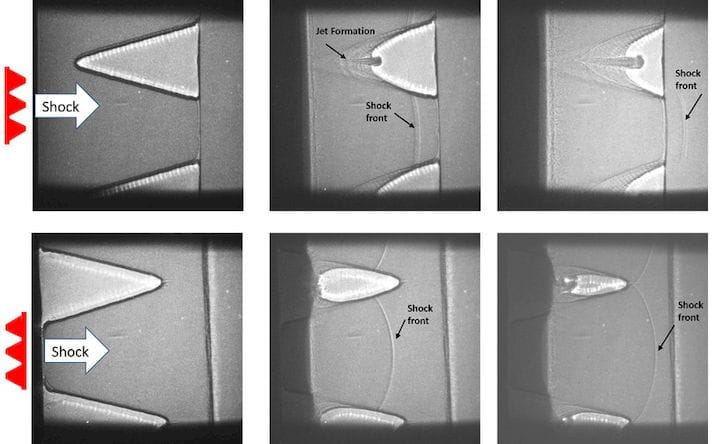 Shock wave-proof 3D printed surfaces [Source: Wright-Patterson AFB]