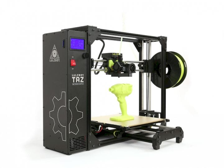 The TAZ Workhorse Edition: A New 3D Printer From LulzBot