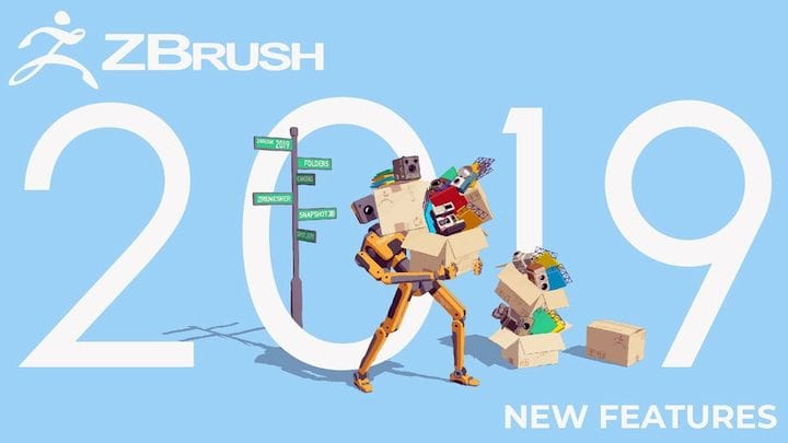 , ZBrush 2019 Focuses on Optimizing the Digital Sculptor's Workflow