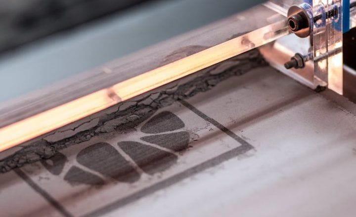 The Concr3de stone 3D printing process [Source: Concr3de]