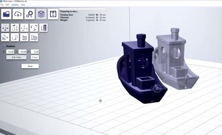 The REALvision 3D print slicing system [Source: Create it REAL]