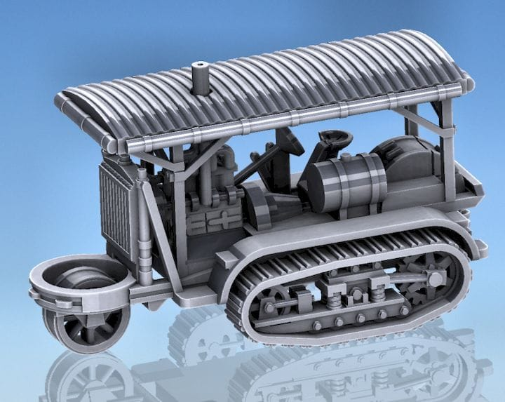 Not a 3D model of a tank [Source: Marco Bergman]